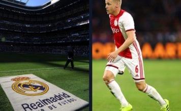 Van de Beek goes public over his Real Madrid move image