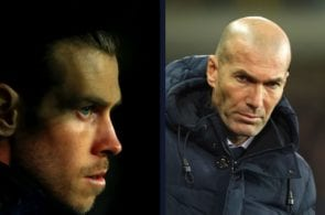 Zidane makes the final verdict on Bale