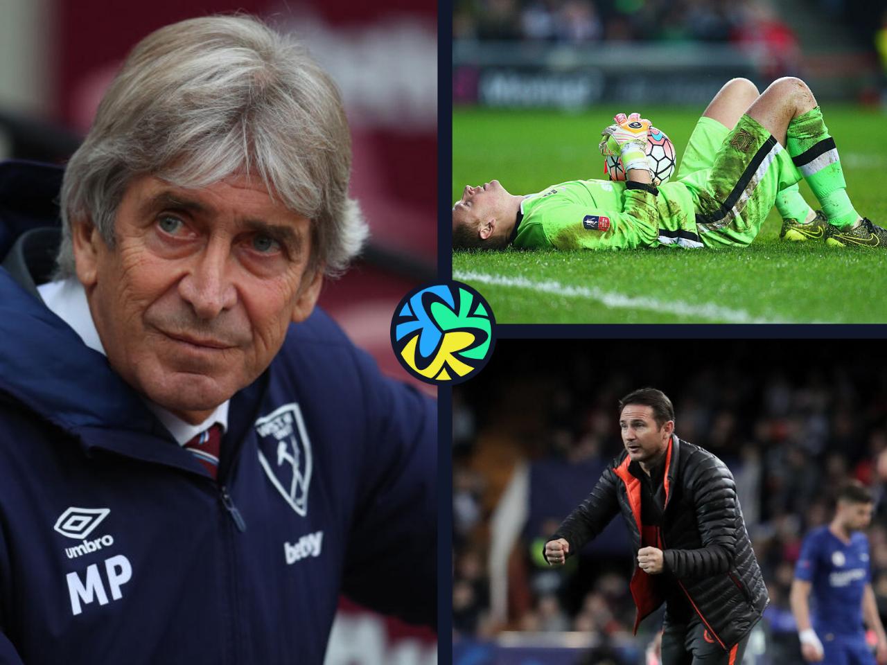 West Ham Chelsea David Martin Manuel Pellegrini Frank Lampard