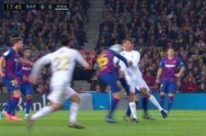 varane lenglet penalty screen shot
