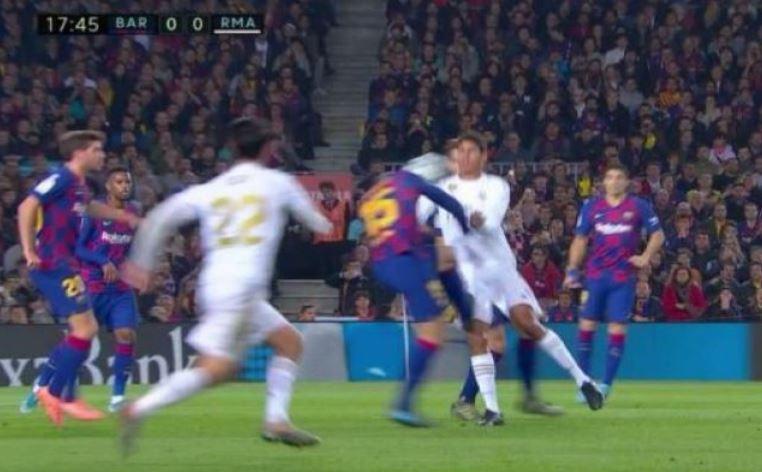 varane lenglet penalty screen shot