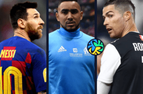 Lionel Messi of Barcelona, Dimitri Payet of Marseille, Cristiano Ronaldo of Juventus