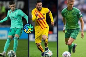 Top 5 players in La Liga's first half of the 2019-20 season