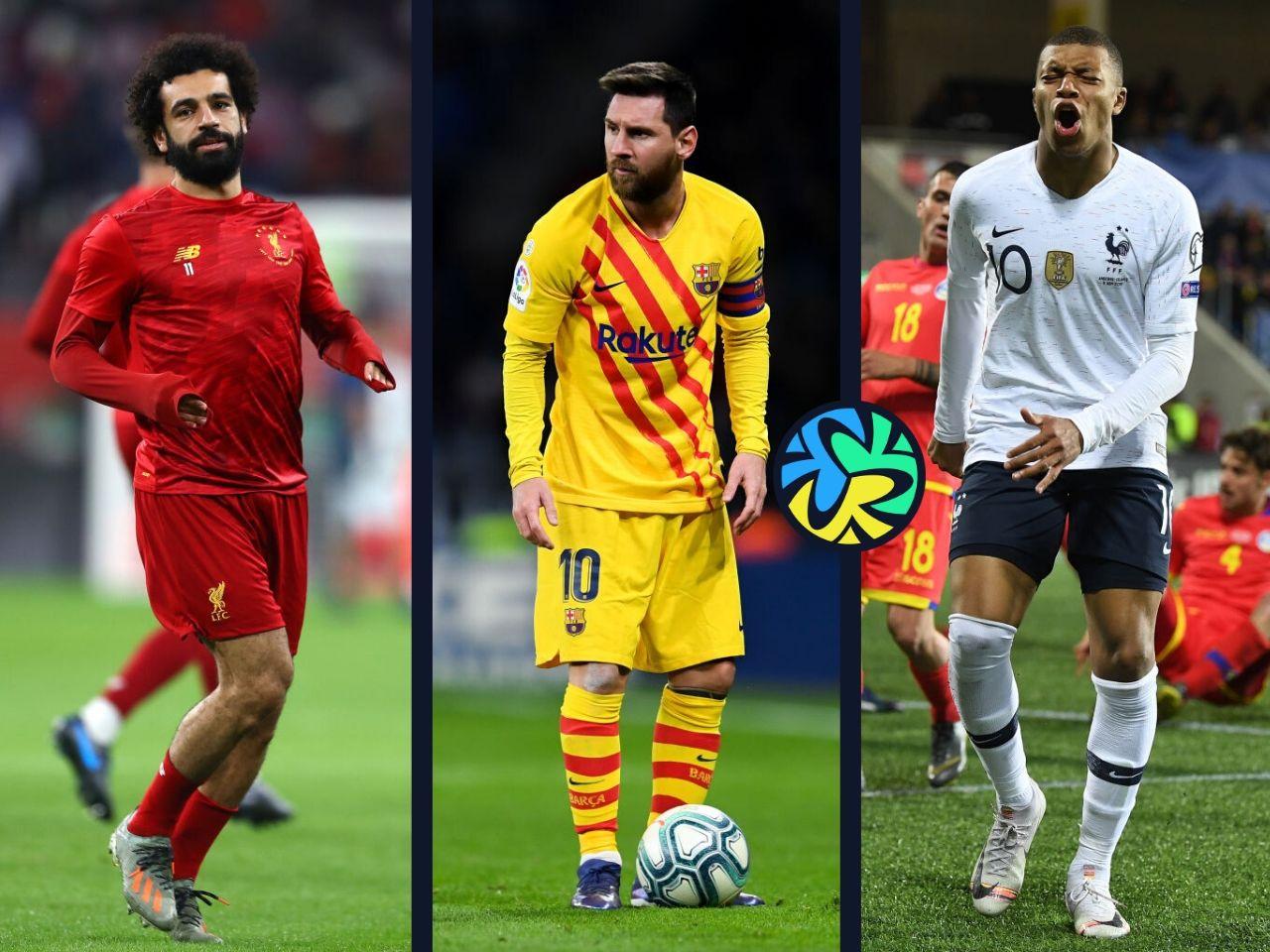 Top 10, footballers
