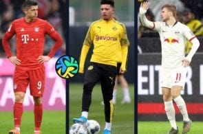 Top 5 players in the Bundesliga's first half of the season