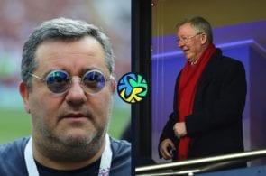 Mino Raiola, Sir Alex Ferguson