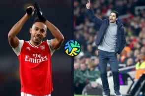 Arteta goes public over Aubameyang exit talks