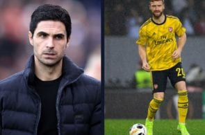 Arteta opens the door for Mustafi exit