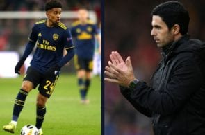 Mikel Arteta, Reiss Nelson, Arsenal, Premier League