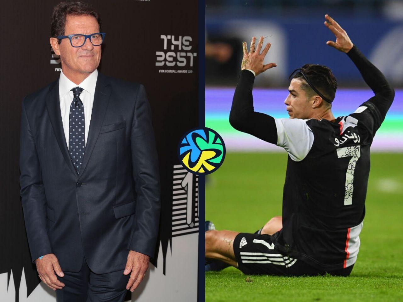 Fabio Capello, Cristiano Ronaldo, Juventus, Serie A