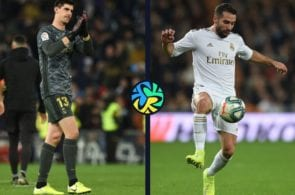Dani Carvajal, Thibaut Courtois, Real Madrid, La Liga