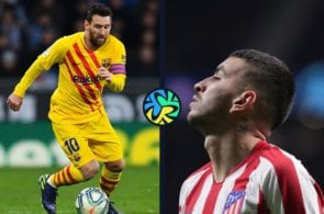 Lionel Messi, Angel Correa, Atletico Madrid, La Liga