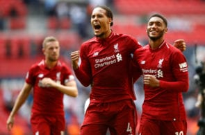 Virgil van Dijk and Joe Gomez, Liverpool