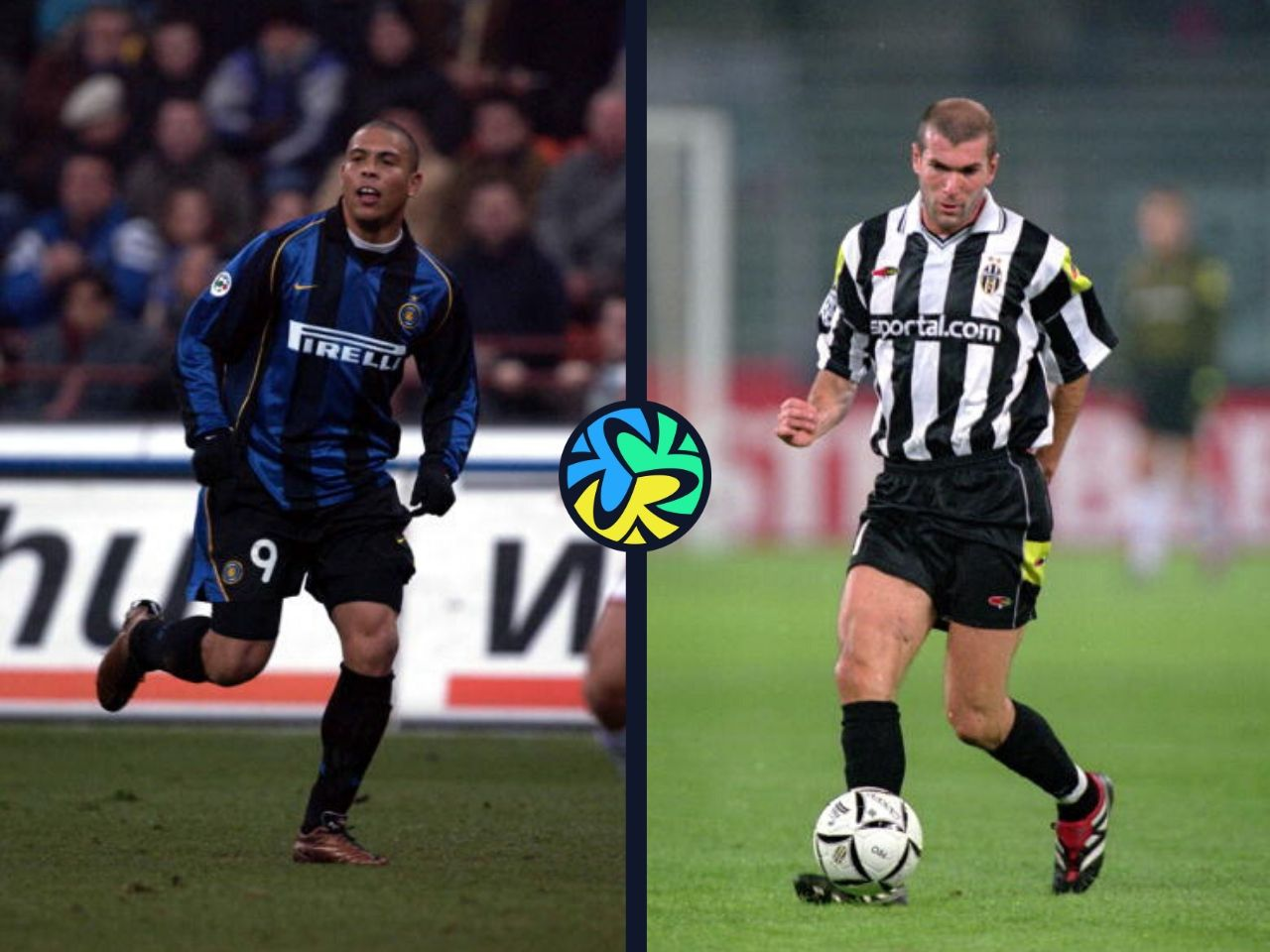 Top 5 Serie A players of the 90s decade
