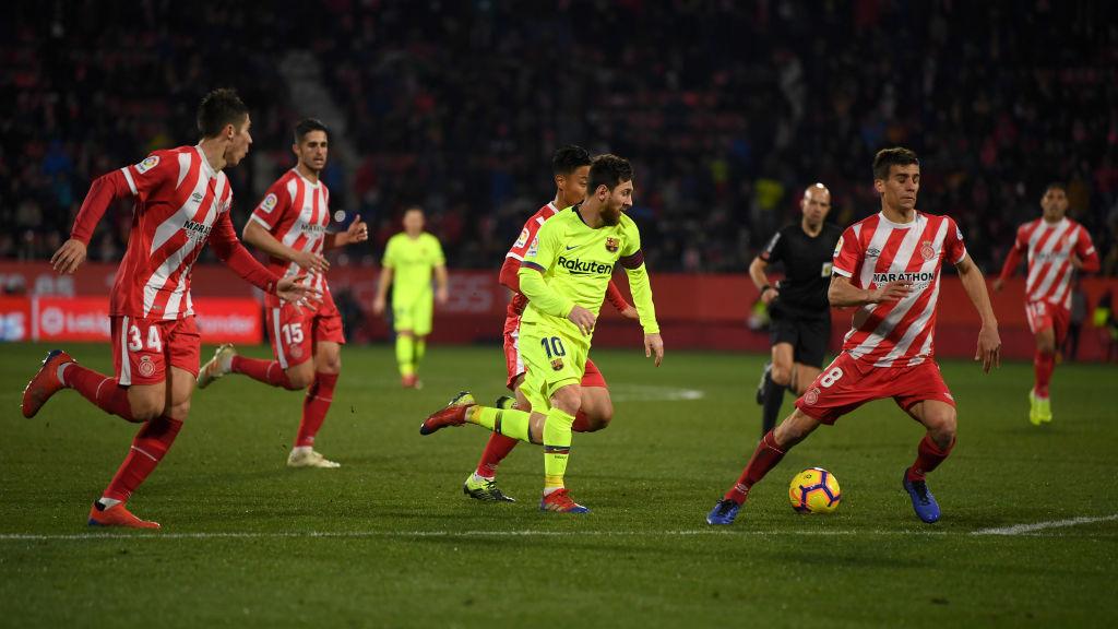 Lionel Messi, Barceloona, Girona pablo Maffeo