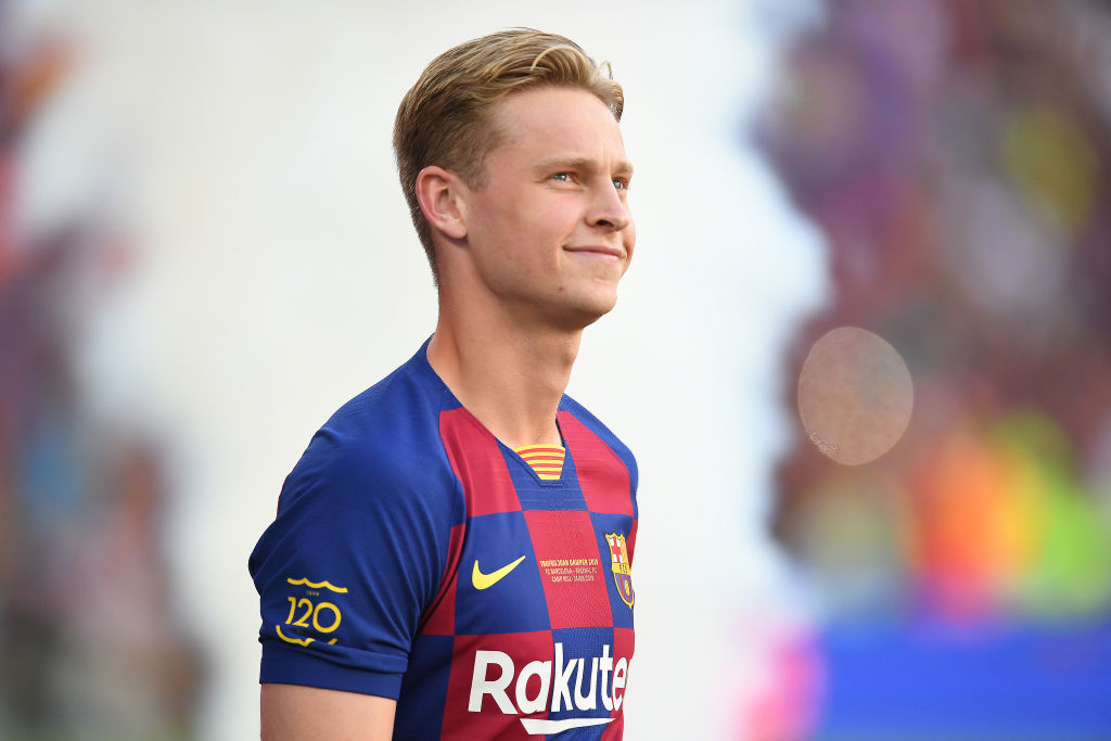 De Jong Hoping To End His Career At Barcelona Ronaldo Com