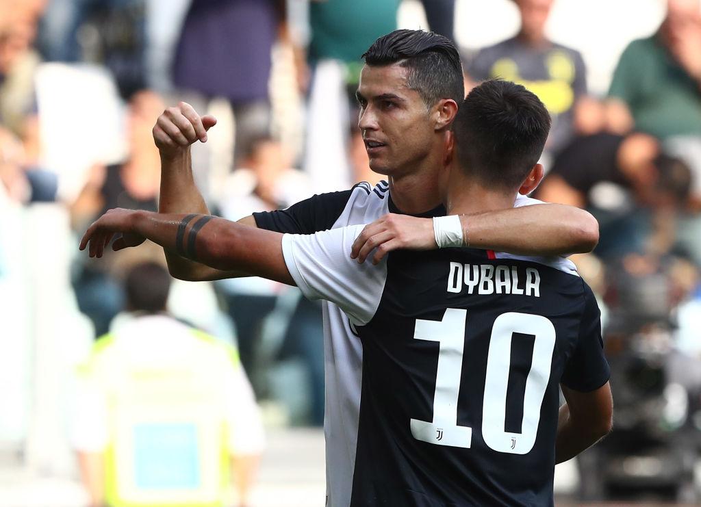 Cristiano Ronaldo and Paulo Dybala, Juventus
