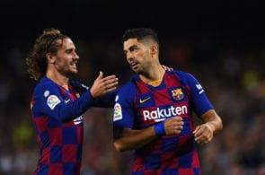 Antoine Griezmann, Luis Suarez, FC Barcelona