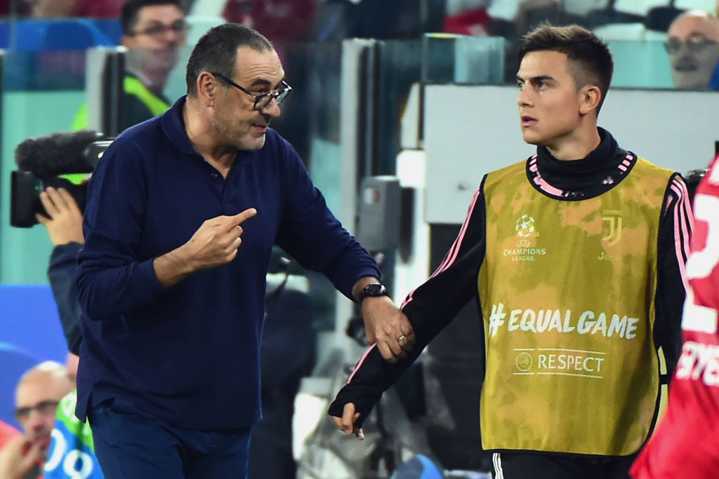 Maurizio Sarri, Paulo Dybala, Juventus