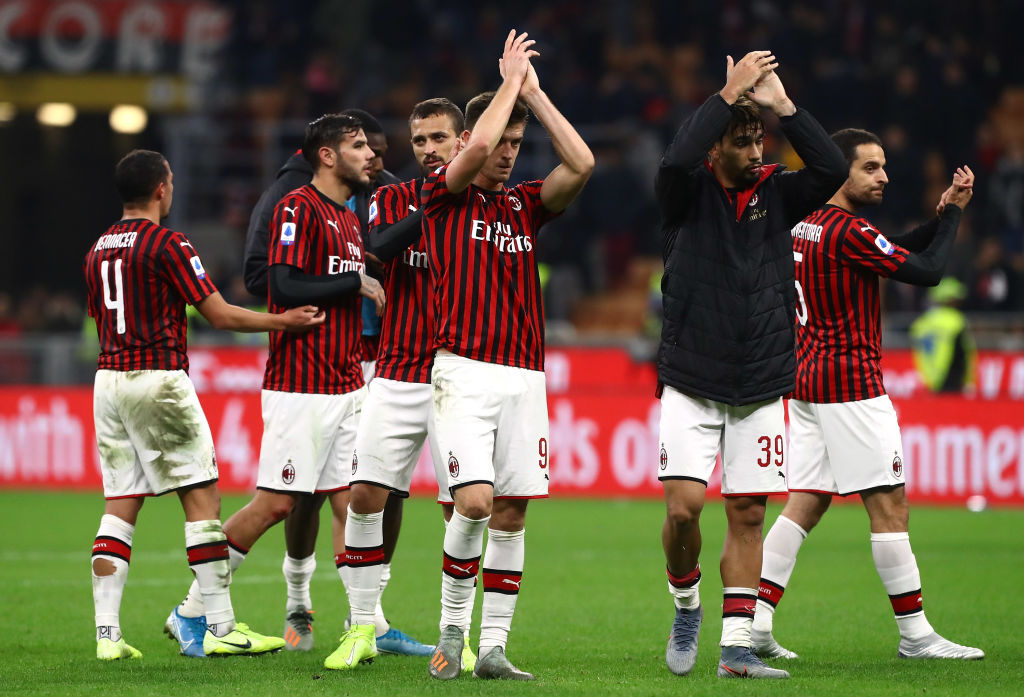 AC Milan vs SPAL coppa Italia
