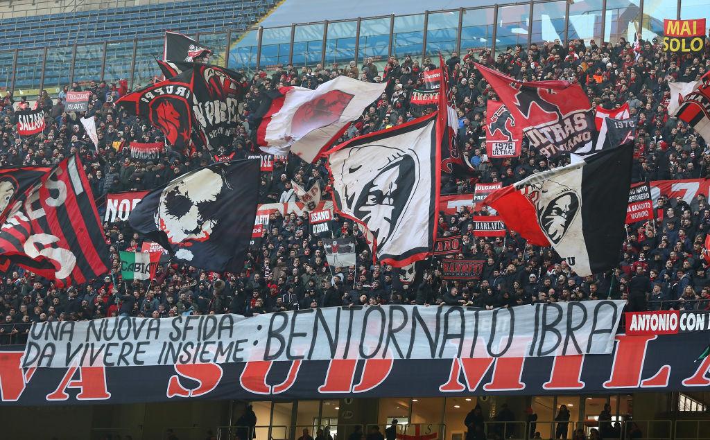 Zlatan Ibrhimovic, AC Milan, San Siro
