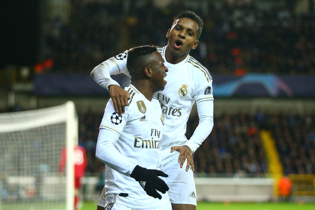 Rodrygo Goes, Vinicius Junior, Real Madrid