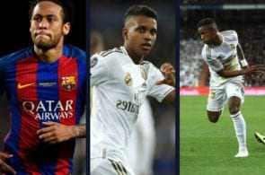 Neymar Jr. rodrygo goes real madrid