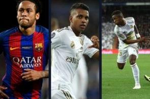 Neymar Jr. rodrygo goes real madrid