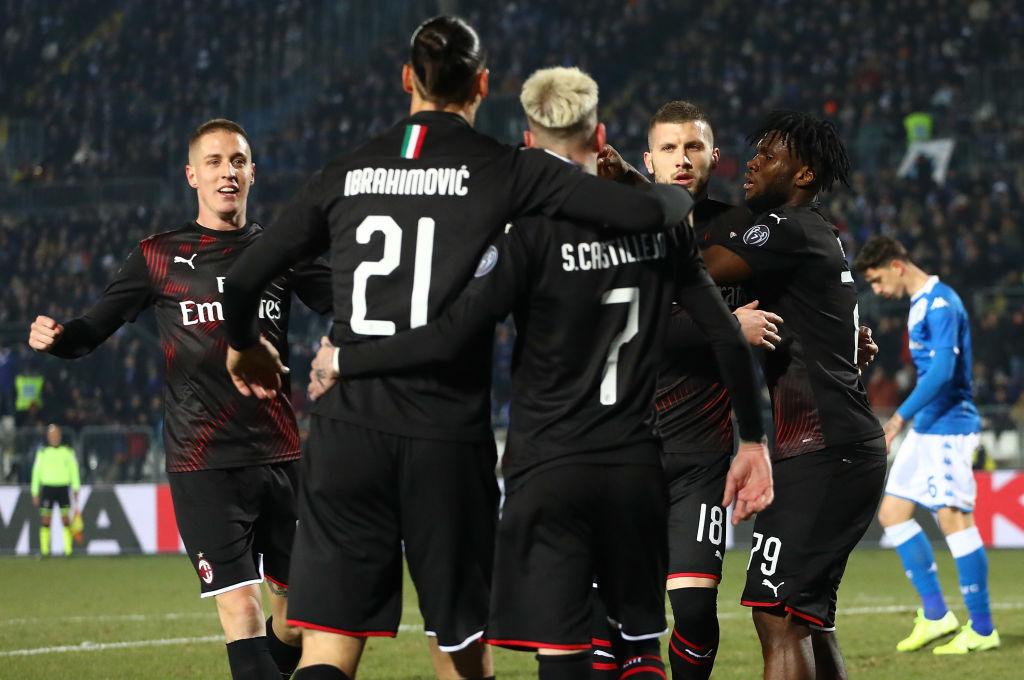 Ibrahimovic, Rebic, AC Milan