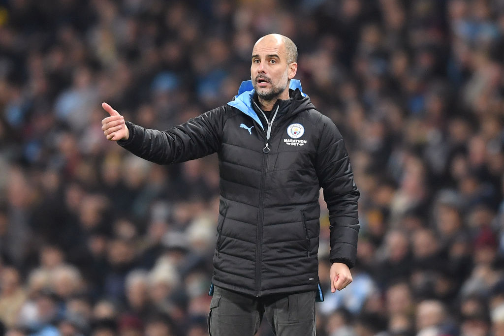 Guardiola, Manchester City, highest paid football managers, 2020