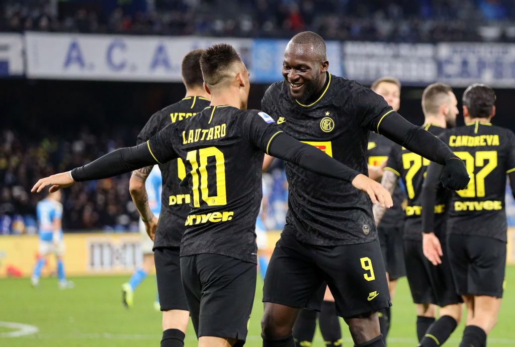 Napoli Inter Milan Serie A