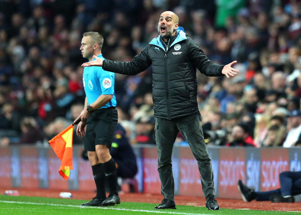 pep guardiola, manchester city, premier league