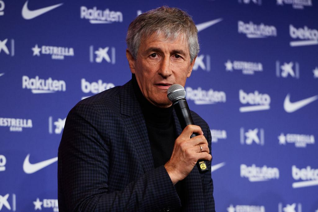 Quique Setien, FC Barcelona
