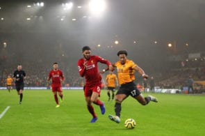 Joe Gomez, Adama Traore, Liverpool vs Wolves