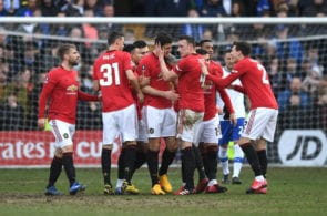 Tranmere Rovers v Manchester United, FA Cup