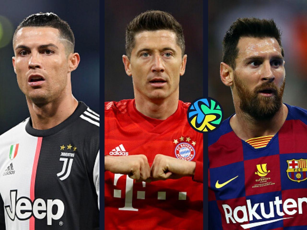 Best goalscorers in Europe, Cristiano Ronaldo, Lionel Messi