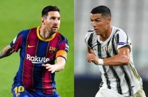 The 15 footballers to have played with Messi and Ronaldo