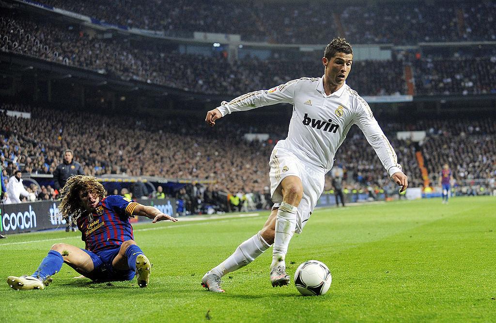 Cristiano Ronaldo, defenders