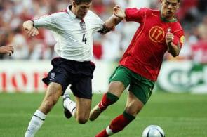 Euro 2004: Portugal v England