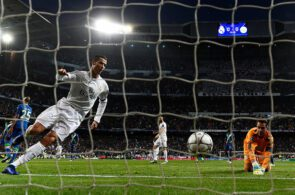 Cristiano Ronaldo, goalkeeper