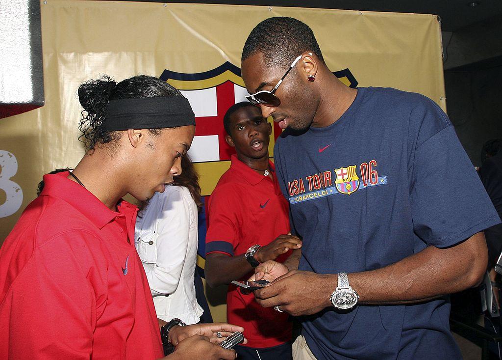 Kobe Bryant, Ronaldinho
