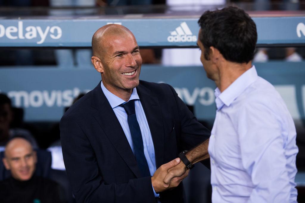 Ernesto Valverde, Zinedine Zidane