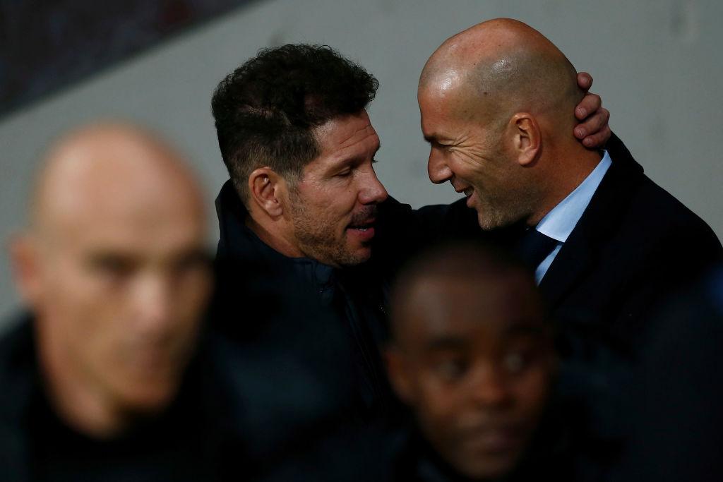 Simeone, Zidane