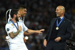 Isco, Zidane, Real Madrid