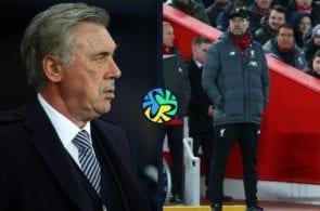 Carlo Ancelotti, Jurgen Klopp, Liverpool, Premier League, Everton