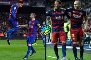 Iniesta warms up Neymar to Barcelona rumors