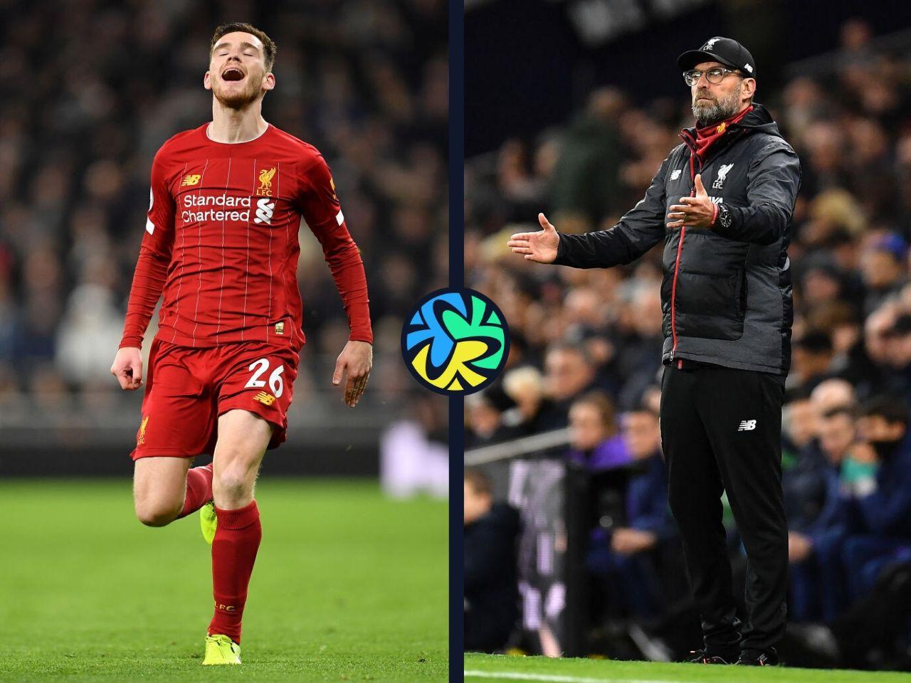 Jurgen Klopp, Liverpool, Andy Robertson, Premier League
