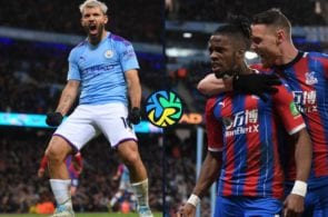 Manchester City and Crystal Palace draw in a thriller