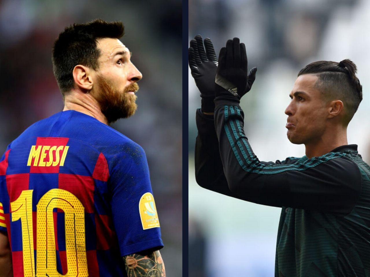 Lionel Messi, Cristiano Ronaldo, La Liga, FC Barcelona