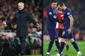 Jose Mourinho, Harry Kane, Tottenham, Premier League